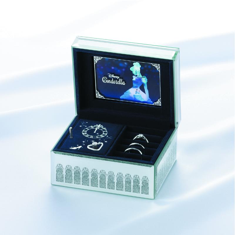 Disney Cinderella オルゴールジュエリーボックス